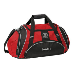 Personalized Red Ogio Gym Bag-Groomsmen Gifts