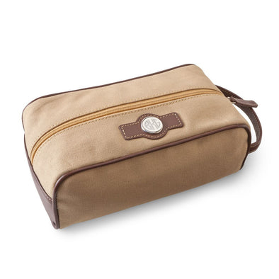 Personalized Leather & Canvas Travel Travel Bag-Travel Gifts-JDS-