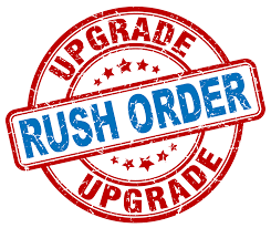 Rush Order Processing - Order ships in 24 business hours