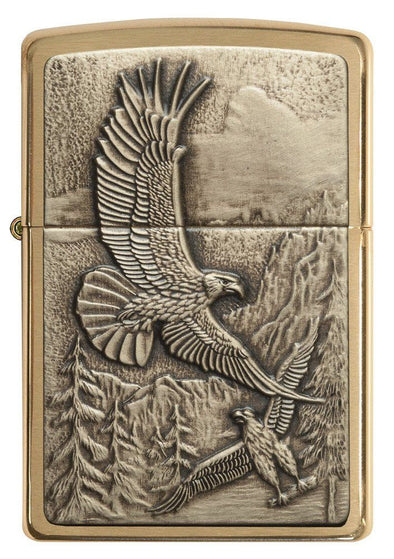 Personalized Lighters - Zippo - Soaring Eagles - Groomsmen Gifts-