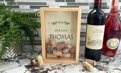 Personalized Wine Cork Keepers - Small