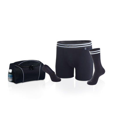 Men's Undergarment Set – The Racer with Bonus Travel Bag-