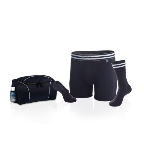 Men's Undergarment Set – The Racer with Bonus Travel Bag-Groomsmen Gifts