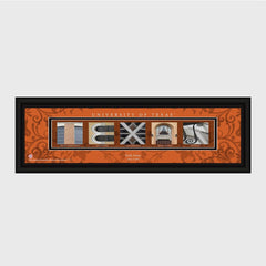 Personalized Big 12 Division Conference Architectural Campus Art-Groomsmen Gifts