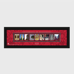Personalized Big 10 West Division Conference Architectural Campus Art-Groomsmen Gifts