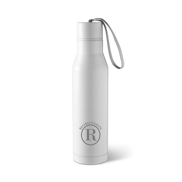 Personalized Stainless Steel Thermos Water Bottle-Travel Gifts-JDS-Circle-