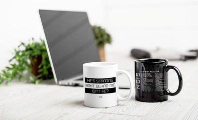 Personalized NCIS Mug Collection