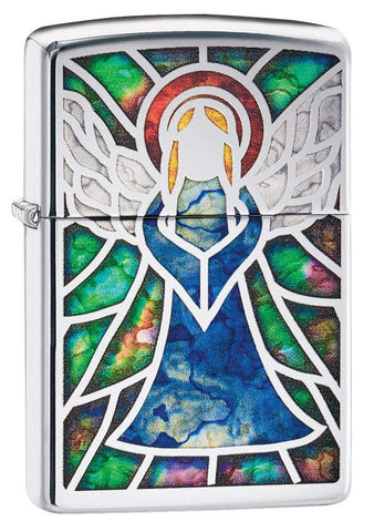 Personalized Angel Design Zippo Lighter-Groomsmen Gifts