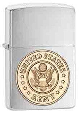 Personalized Zippo Army Lighter