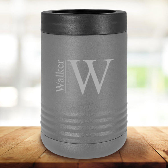 Personalized Drink Carrier - Gray