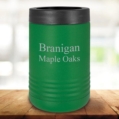 Personalized Drink Carrier  - Green
