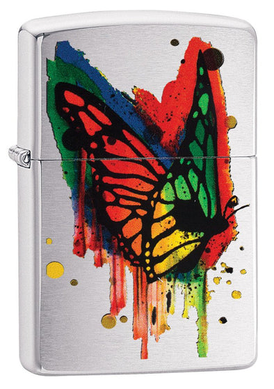 Personalized Butterfly Zippo Lighter-