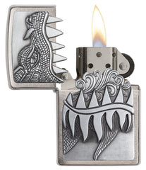 Personalized Fire Breathing Dragon Zippo Lighter-Groomsmen Gifts