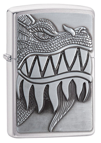 Personalized Fire Breathing Dragon Zippo Lighter-