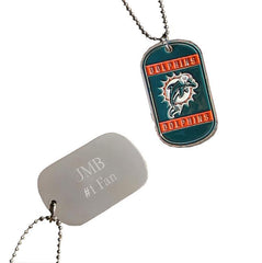 Personalized NFL Dog Tag-Groomsmen Gifts