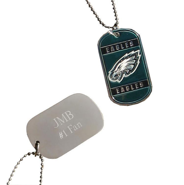 Personalized NFL Dog Tag-Philadelphia Eagles-