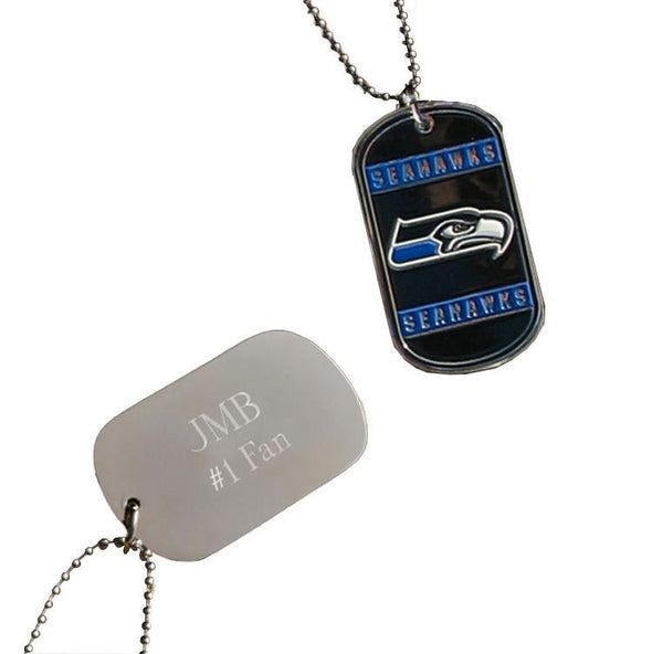 Personalized NFL Dog Tag-Seattle Seahawks-