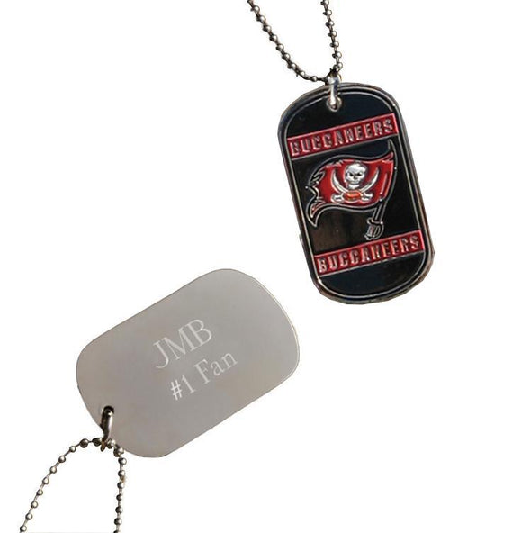 Personalized NFL Dog Tag-Tampa Bay Buccaneers-