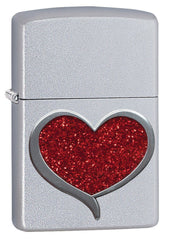 Personalized Glitter Heart Zippo Lighter-Groomsmen Gifts