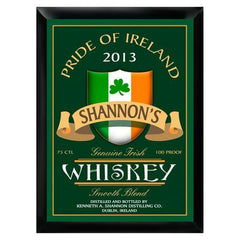 Personalized Bar Signs - Traditional - Groomsmen Gifts-Irish Whiskey-