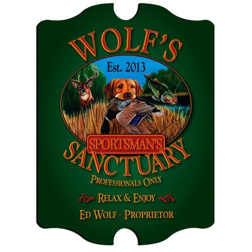 Personalized Bar Signs - Vintage - Multiple Designs - Groomsman-Hunting-