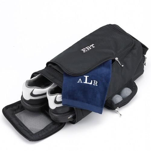 Personalized Golf Shoe Bag - Embroidered - Groomsmen Gifts