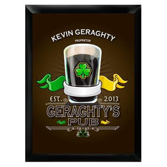 Personalized Bar Signs - Traditional - Groomsmen Gifts-Irish-