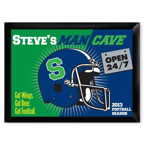 Personalized Man Cave Bar Signs
