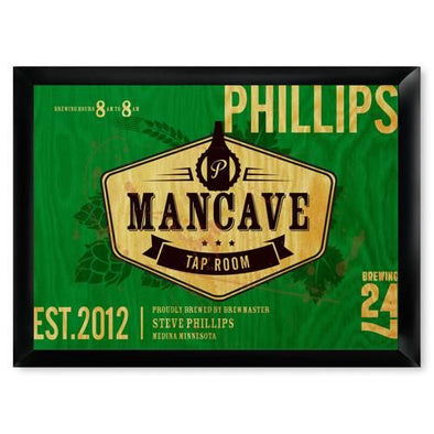 Personalized Bar Signs - Man Cave Signs - Groomsmen Gifts-Tap Room-