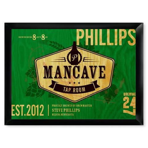 Personalized Man Cave Bar Signs-Groomsmen Gifts