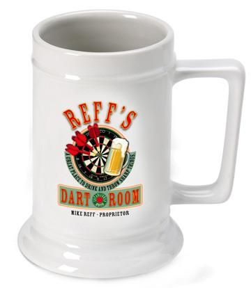 Personalized 16 oz. Ceramic Beer Mug