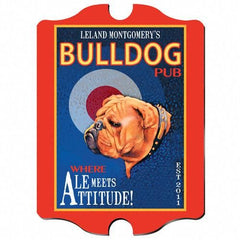 Personalized Bar Signs - Vintage - Multiple Designs - Groomsman-Bulldog-