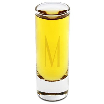 Engraved Island Shot Glass-Groomsmen Gifts
