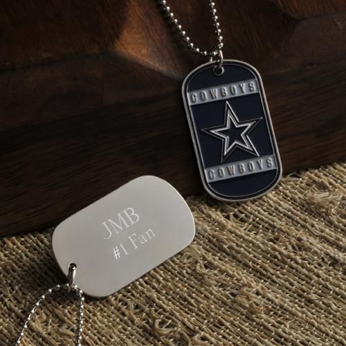 Personalized NFL Dog Tag-