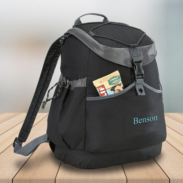 Personalized Backpack Travel Cooler - 24 Can Capacity