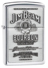 Personalized Zippo Jim Bean High Polish Chrome Lighter