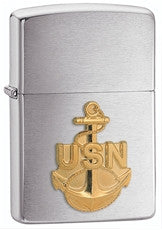 Personalized Zippo Navy Lighter