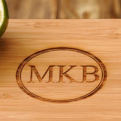Monogram Bamboo Board