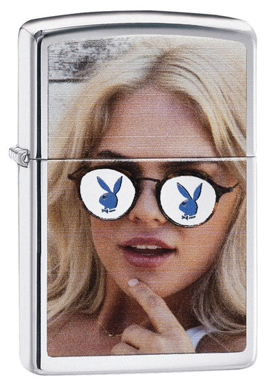Personalized Playboy Zippo Lighter-