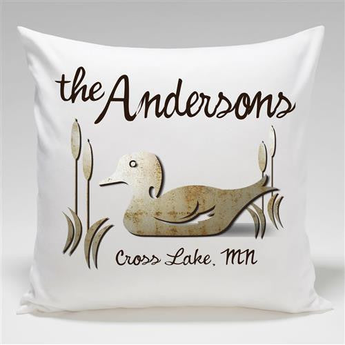 Personalized CabinThrow Pillow-