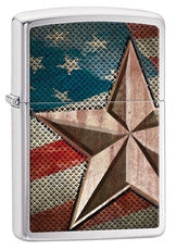 Personalized Zippo Retro Star Lighter-Groomsmen Gifts