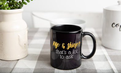 Personalized Sarcastic Mornings Mug Collection