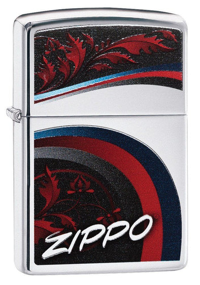 Personalized Satin and Ribbons Zippo Lighter-