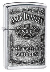 Personalized Zippo Jack Daniels High Polish Lighter-Groomsmen Gifts