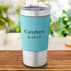 Personalized Mint 20 oz. Travel Tumbler