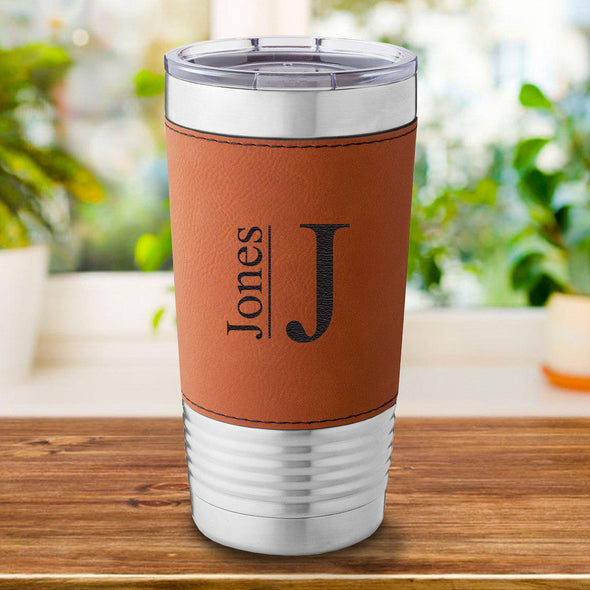 Personalized Rawhide 20 oz. Travel Tumbler