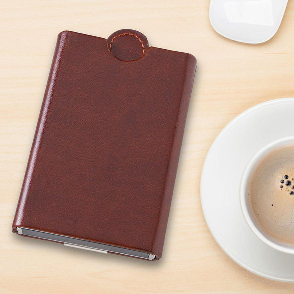 Personalized Wallet and Money Clip - Black or Brown