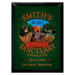 Personalized Bar Signs - Traditional - Groomsmen Gifts-Sportsman's-