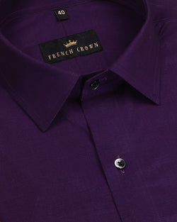 Lavender Medium-Weight Royal Oxford Shirt