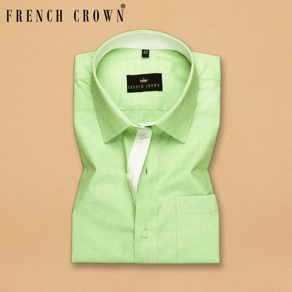 Mint Premium Cotton Shirt